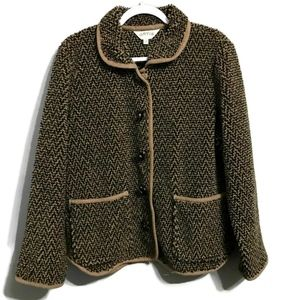 Orvis Toggle Button Up Coat Large